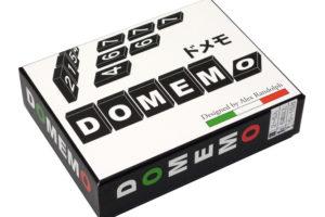 ドメモ (Domemo)  木製版 シンプルなルールで老若男女楽しめるゲーム