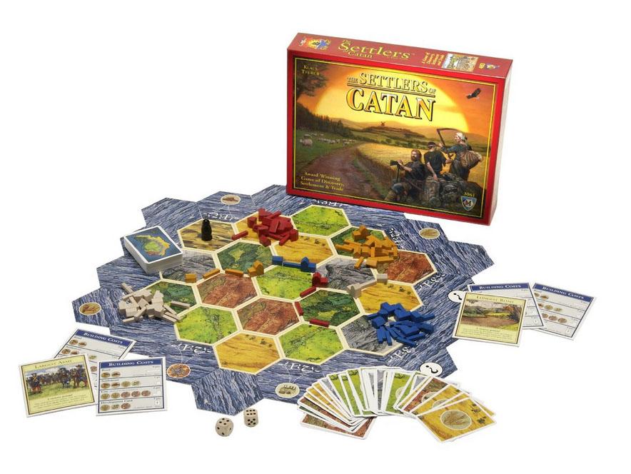 カタンの開拓者たち ボードゲーム